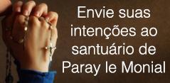 Envie sua intenções ao santuário de Paray le Monial